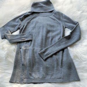 Lululemon Sweat and Savasana Grey Sweater Sz 6